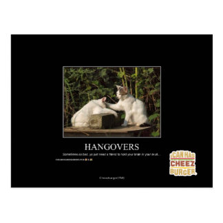 Hangovers Postcard
