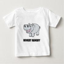 Hangry Hippo Baby T-Shirt