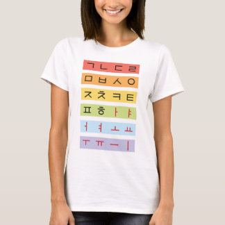 Hangul Woman T-Shirt