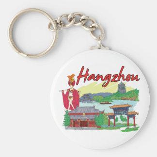 Hangzhou, China Famous City Keychain