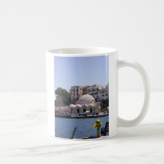 Hania, Crete inner harbor Coffee Mug