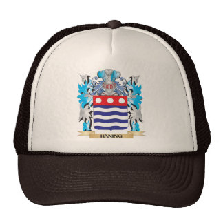 Haning Coat of Arms - Family Crest Trucker Hat