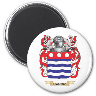 Haning Coat of Arms (Family Crest) Refrigerator Magnet