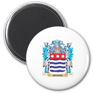 Haning Coat of Arms - Family Crest Fridge Magnets