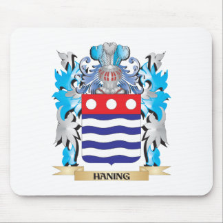 Haning Coat of Arms - Family Crest Mouse Pad