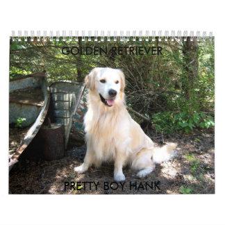 Hank 8 10 2008 014.1, GOLDEN RETRI... - Customized Calendar