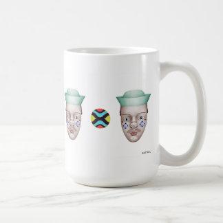 Hank alrededor taza