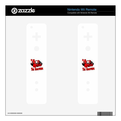 Hank and The Hardtops Decal For The Wii Remote