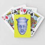 Hank - azul y amarillo barajas de cartas