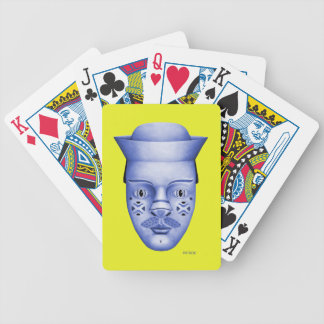 Hank - Blue & Yellow Bicycle Playing Cards