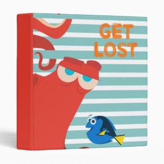 Hank & Dory | Get Lost 3 Ring Binder