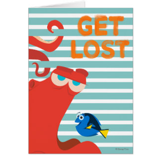 Hank & Dory | Get Lost Card