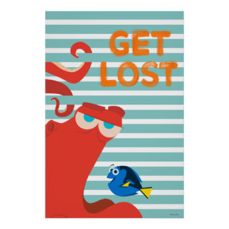 Hank & Dory | Get Lost Poster