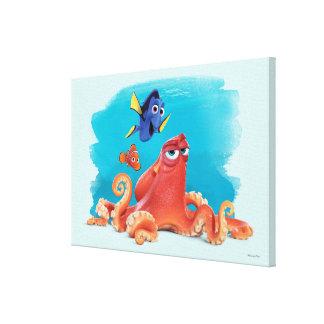 Hank, Dory & Nemo Canvas Print