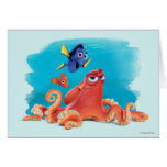 Hank, Dory & Nemo Card