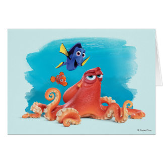 Hank, Dory & Nemo Card