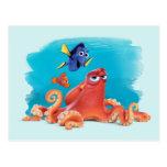 Hank, Dory & Nemo Postcard at Zazzle
