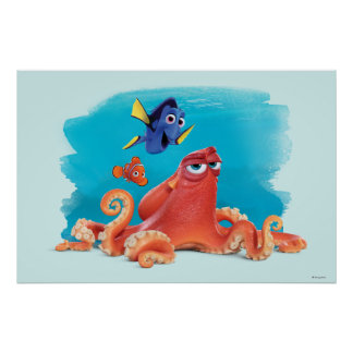 Hank, Dory & Nemo Poster