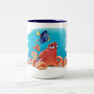 Hank, Dory & Nemo Two-Tone Coffee Mug