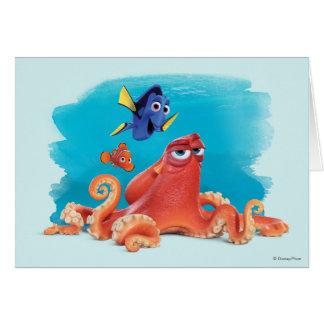 Hank, Dory y Nemo Tarjeta De Felicitación