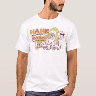 Hank el | vive en una caja de cristal solamente playera