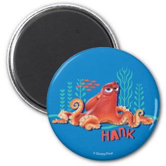 Hank | Fun Under the Sea 2 Inch Round Magnet