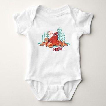 Disney Themed Hank | Fun Under the Sea Baby Bodysuit