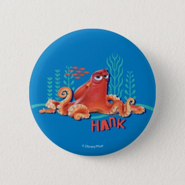 Disney Themed Hank | Fun Under the Sea Pinback Button