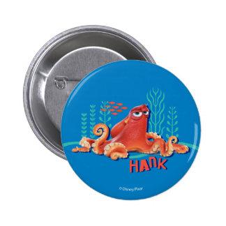 Hank   Fun Under the Sea Pinback Button