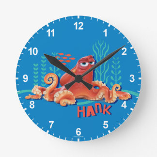 Hank | Fun Under the Sea Round Clock