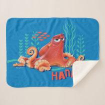 Hank | Fun Under the Sea Sherpa Blanket