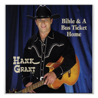 Hank Grant Poster CD Cover
