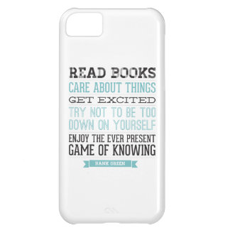 Hank Green Quote Cover For iPhone 5C