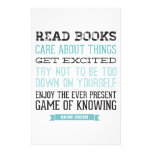 Hank Green Quote Personalized Stationery