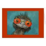 Hank la tarjeta del Emu