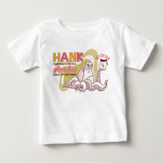 Hank   Live in a Glass Box Alone Baby T-Shirt