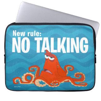Hank | New Rule...No Talking Laptop Sleeve