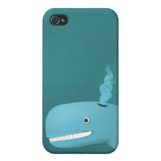 Hank the Whale Covers For iPhone 4