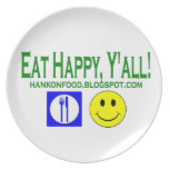 HankOnFood.com Official Plate
