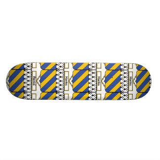 Hanks Family Crest Skate Board Deck