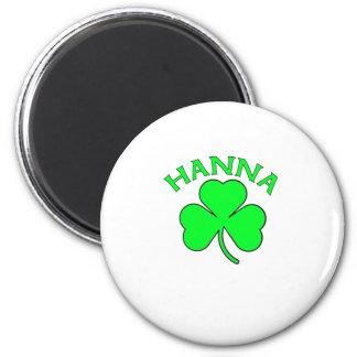 Hanna Fridge Magnet