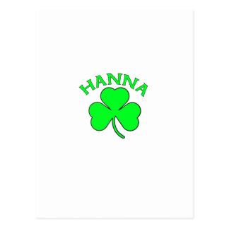 Hanna Postcard