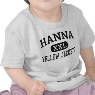 Hanna - Yellow Jackets - High - Anderson Tee Shirts