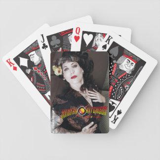 Hannah Asian Pin-Up Playing Cards