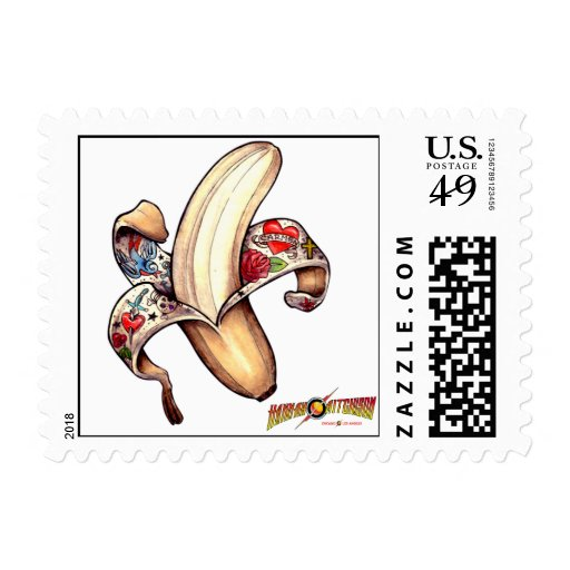 Hannah Banana USPS First Class Postage Stamps!