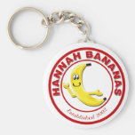 Hannah Bananas Keychains