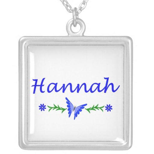 Hannah (Blue Butterfly) Jewelry