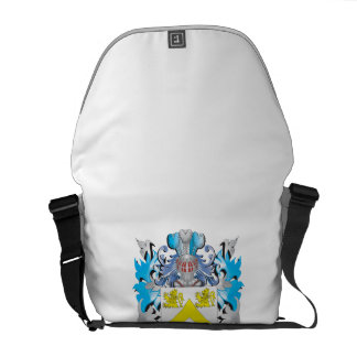 Hannah Coat of Arms - Family Crest Courier Bag
