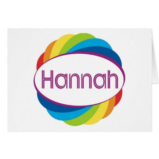 Hannah Felicitación