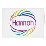 Hannah Felicitaciones
